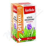 Apotheke Detoxi tea očista organismu čaj 20x1. 5g