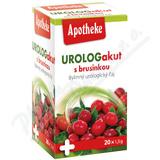 Apotheke Urolog akut s brusinkou čaj 20x1. 5g